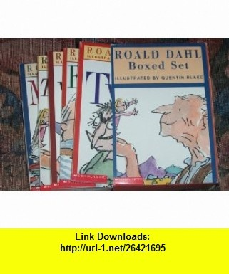 Roald Dahl 6-Book Boxed Set The Witches, Georges Marvelous Medicine, The Twits, Esio Trot, Matilda, The BFG (9780439378895) Roald Dahl, Quentin Blake , ISBN-10: 0439378893  , ISBN-13: 978-0439378895 ,  , tutorials , pdf , ebook , torrent , downloads , rapidshare , filesonic , hotfile , megaupload , fileserve