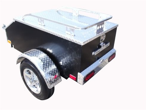 Looking for a high strength aluminum pull behind motorcycle trailer? The Lumina XL is here.