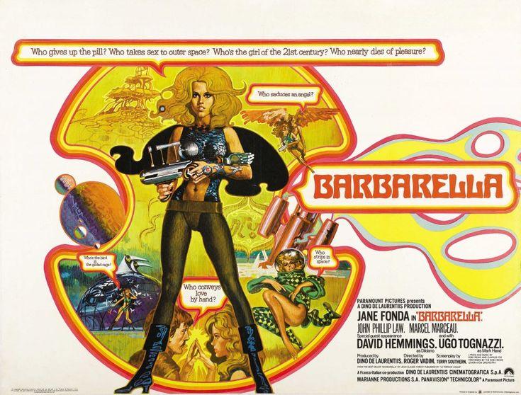Barbarella (1968) poster
