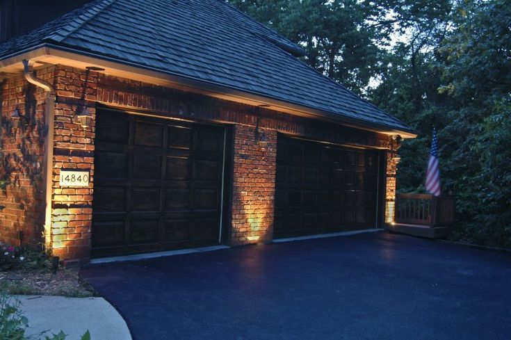 Garage Lighting | Outdoor Accents Lighting | Garage Door ...