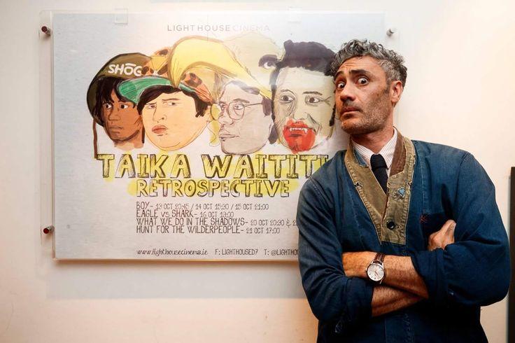 I made a poster for my local cinema's Taika Waititi Retrospective.