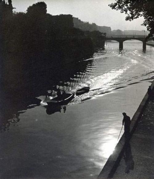 """Albert Monier / """"La Seine"""", Paris, 1930"""