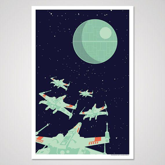 Rouge Squadron - 12x18 Art Print on Etsy, $10.00