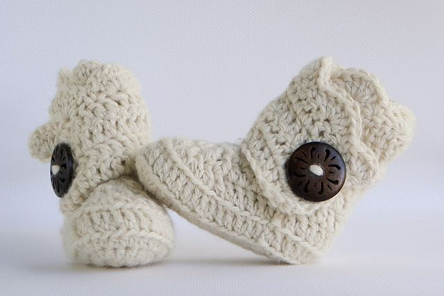 ❤❤❤ SCALLOP EDGE BABY BOOTS ❤❤❤ Awesome cozy baby boots with 3 sizes - thick fit - Easy-Intermediate + ~ Crochet Baby Boots