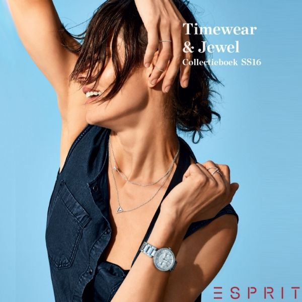 Esprit dameshorloges, collectie voorjaar 2016. Modern, chique of sportief.  http://www.cdjuwelier.net/esprit
