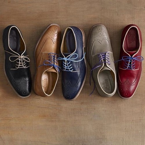 These lovely brogues wingtips | Johnson and Murphy