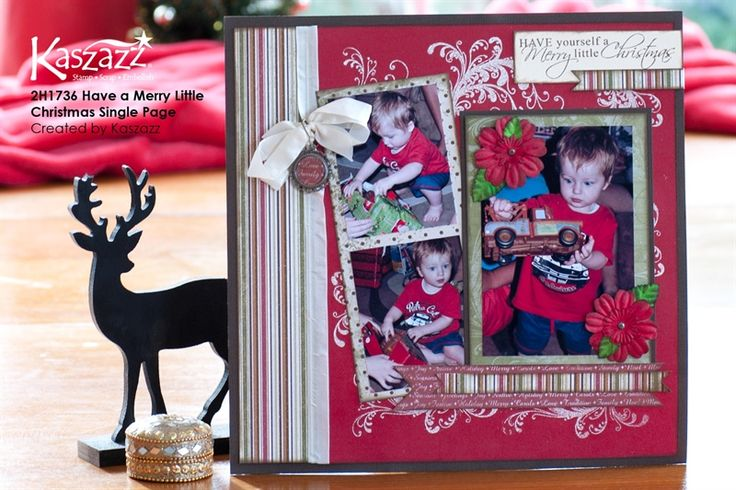 2H1736 Have a Merry Little Christmas Single Page