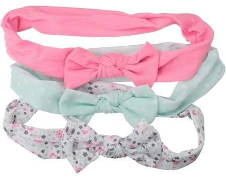 693d54ba2 Child of Mine by Carter's Newborn Baby Girls Floral 3 Pack Bow Headwrap,  Infant Hair 0-12M #babygirl, #carters, #headband, #promotion