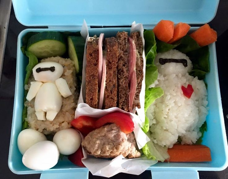 Big hero 5 bento lunch for my boy