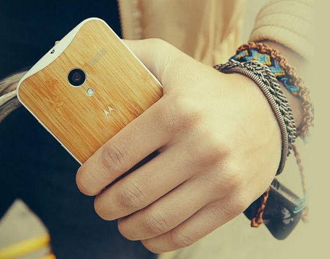 Motorola anuncia capa de Bambu para Moto X