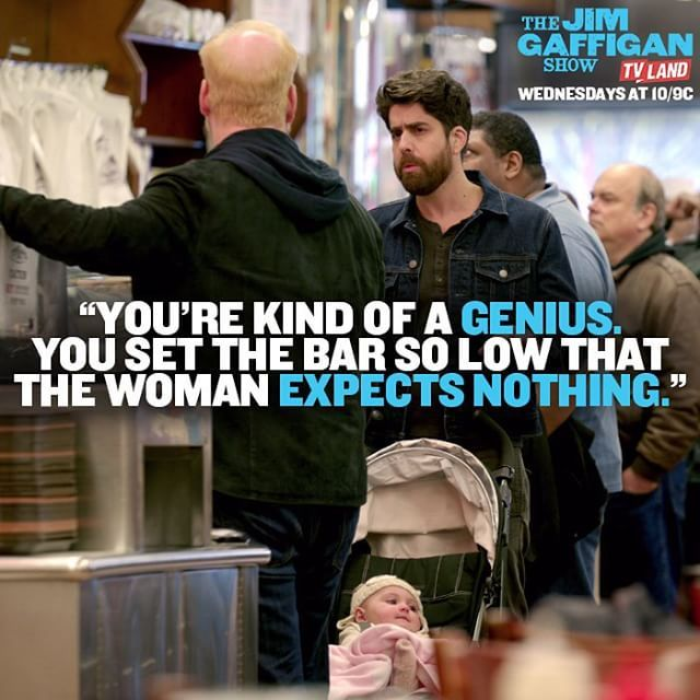 Our strategy from day one. Click to watch Jim Gaffigan and Adam Goldberg in the latest episode of THE JIM GAFFIGAN SHOW on TV Land.
