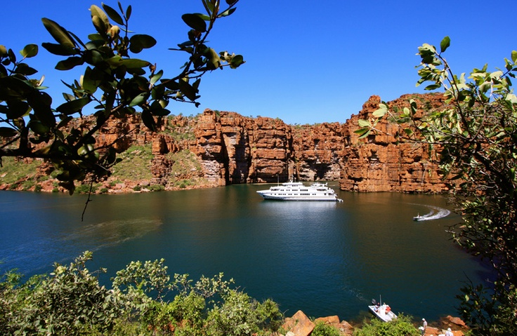"True North's flagship ""Kimberley Wilderness Cruise"" is a 6 or 13 night panorama of spectacular gorges and majestic waterfalls, islands and rugged coastline."