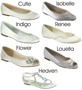 Wedding Flat Shoes Bridal | Flat Wedding Shoes | Weddings2Go