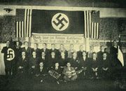 Americans For Hitler.  On the eve of World War II, the German American Bund insisted the Nazi salute was as American as apple pie.