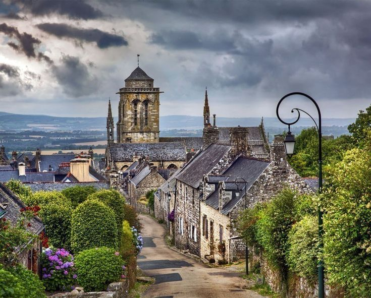 Scenic view of Locronan, Brittany | 10 little towns in France you need to visit Now!