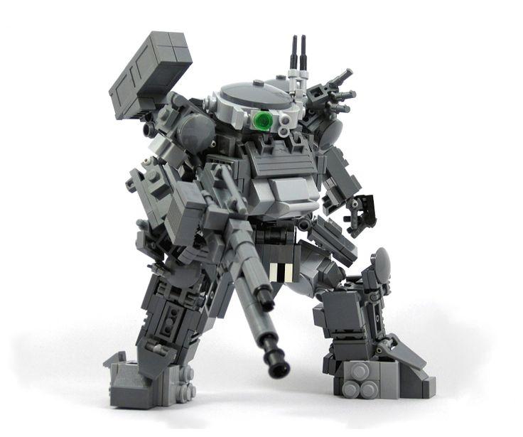 LEGO Mech   Epic LEGO mecha by tattun .