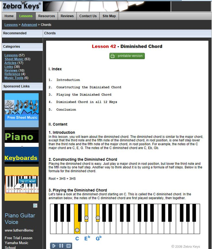 105 best images about 50 Free Piano Lessons on Pinterest ...