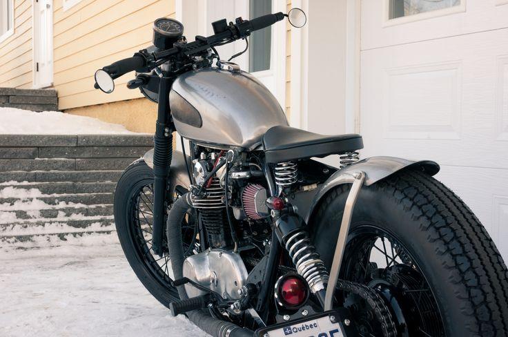 XS650 bobber by Zeel Design