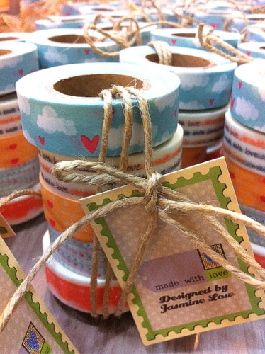 washi tapes- ready to roll