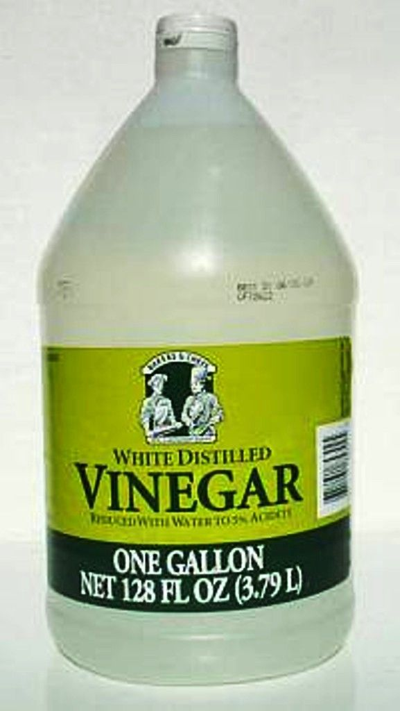 Natural weed killer. 1 gallon vinegar to 1oz soap.