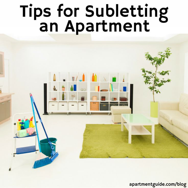 Subleasing is a unique renting situation where etiquette and rules are  different than signing a lease  Apartment GuideApartment LivingApartment  ...