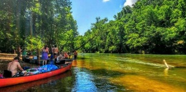 This float trip season, paddle four Missouri waterways known for their natural wonders, active wildlife, and—of course—plenty of spots to pull over for a cold one.