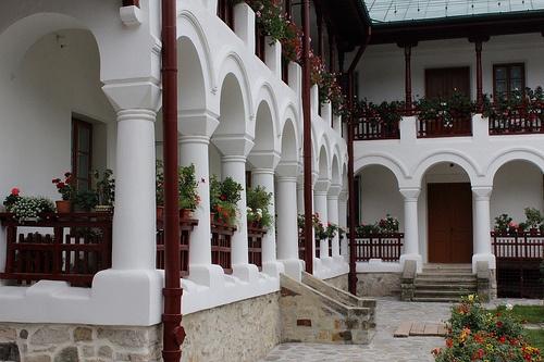 Mănăstirea Văratec - Văratec, Jud. Neamt, Romania - Varatec Monastery.