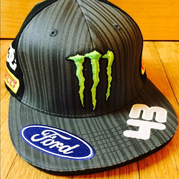 Monster Energy Drink Race SnapBack SnapBack. Monster Energy Drink And Ford  Sponsored Hat. Accessories