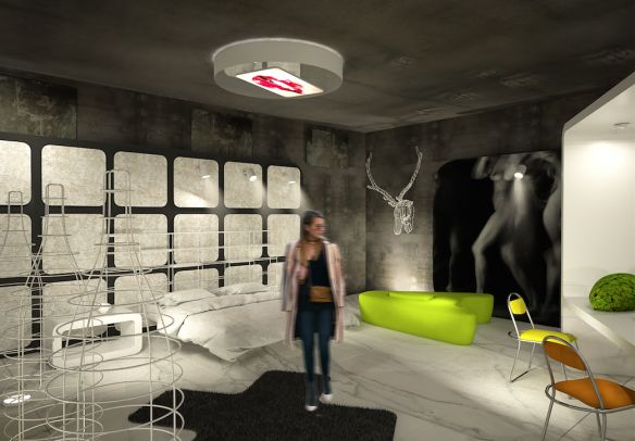 "SUITE 1 - ROOM MATE HOTELS  Simone Micheli designed for Room Mate Hotels the suite called ""Simone - Maurizio"", it is an exclusive, communicative and involving place. #suite1 #roommatehotels #suiteXpeople #VL16 #venturalambrate #milandesignweek #fuorisalone2016"