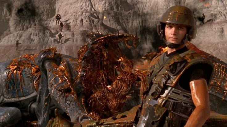 Starship Troopers, Denise Richards, Neil Patrick Harris, super cheese, total vice of sci-fi movies