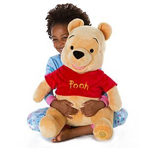 Disney Winnie the Pooh Plush - Large 18'' | Disney StoreWinnie the Pooh Plush - Large 18'' - This ''hunny'' of a bear is stuffed with just the right amount of fluff and sure to please, proving once again that it's so much friendlier with two. Or is that Pooh?