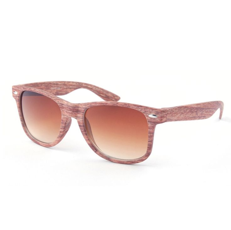 SAVE $25.00 (50% OFF) - Wooden Vogue Style Designer Fashion Sunglasses (Tuscan Rose, Salisbury Pink, Faded Oak, and more).