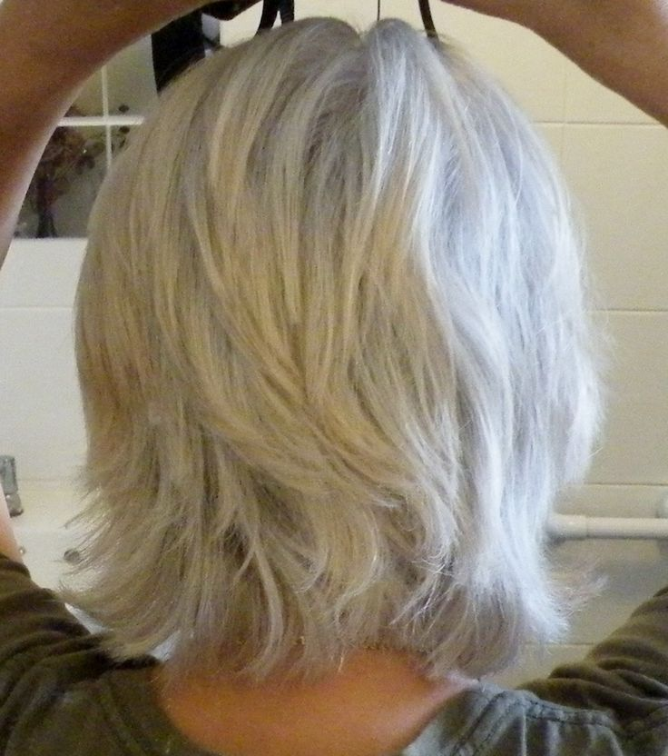 gray & over 50 hair
