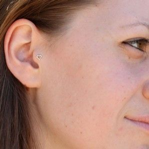 61 best Tragus Ear Piercing Jewellery images on Pinterest Body