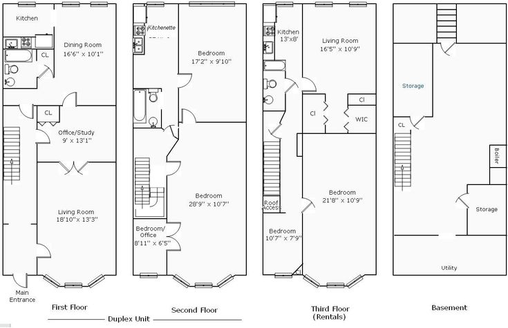 Best Victorian Row House Plans Photos D House Designs Veerleus - Row house plan design