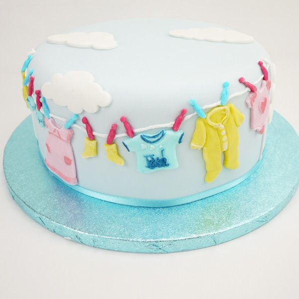 Washing Line Cake Topper