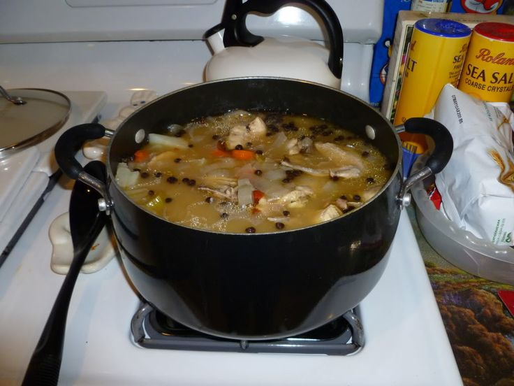 Chicken Souse of the Bahamas
