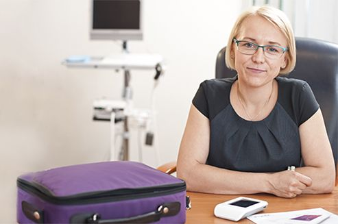"""Patrycja Wizińska-Socha, Ph.D. is a co-owner and CEO of the telemedicine company Nestmedic, that launches Pregnabit, which is the world's first comprehensive telemedicine solution for monitoring fetal health. Thanks to this project, Patrycja Wizińska-Socha has earned herself the title of MIT Technology Review's Innovators Under 35 Poland 2016 and the recognition: """"Innovator of the Year"""". The Awards Ceremony was held on 28 June 2016 in Warsaw."""