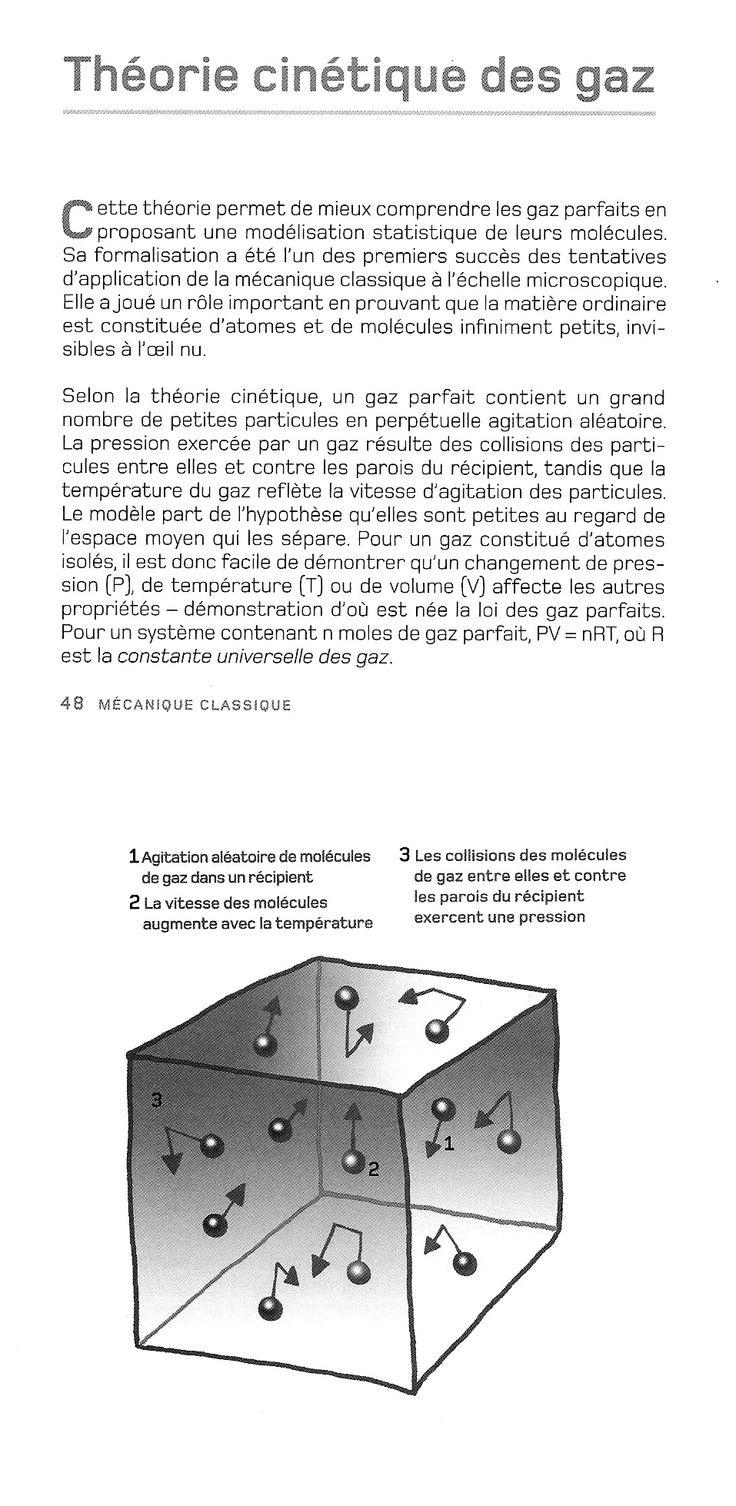021 - Théorie cinétique des gaz