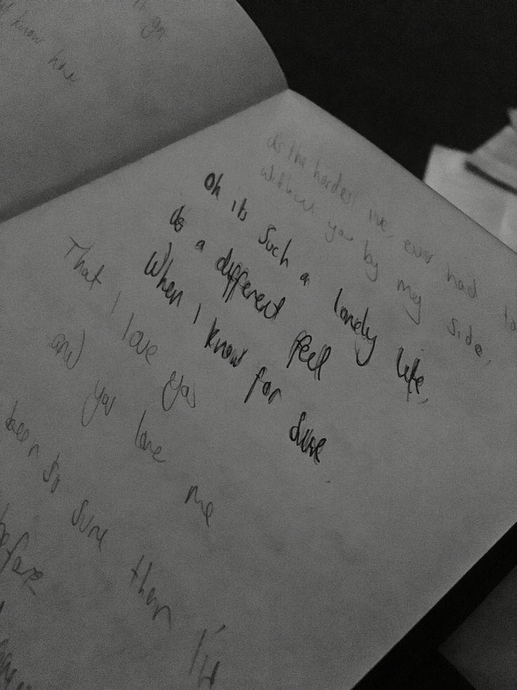 40+ Letter to her lyrics inspirations