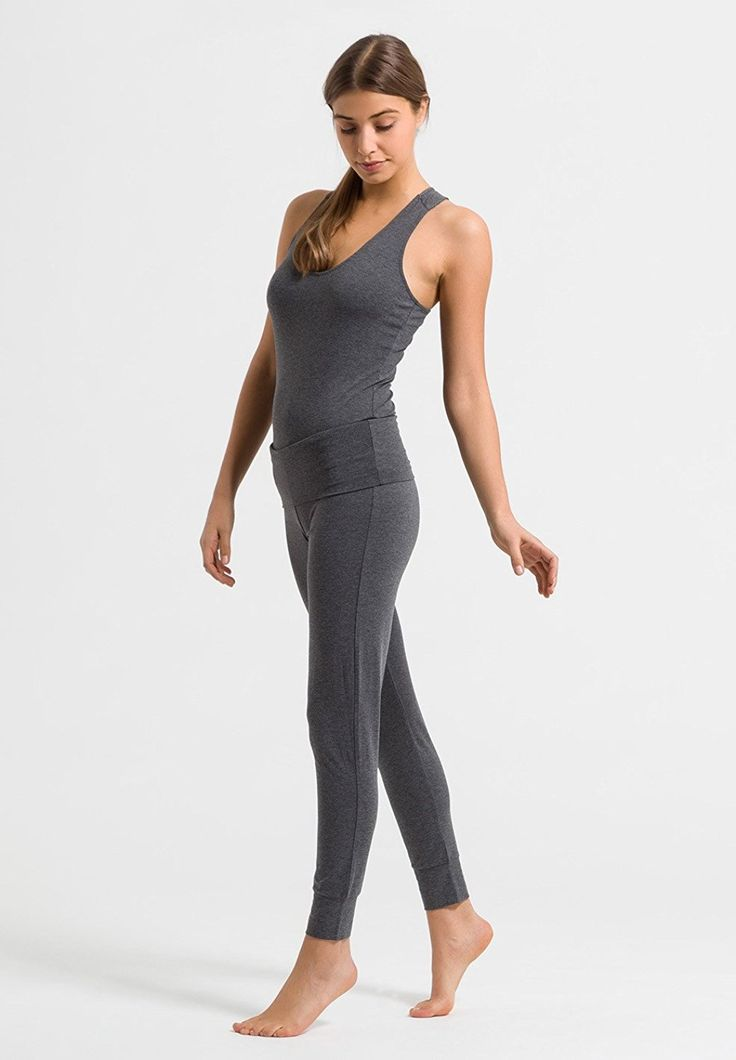 ARMEDANGELS Damen Yoga Hose aus Tencel®-Mix - Natana - grau: 59,00 Euro Amazon.de: Bekleidung