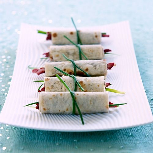 Peking duck pancakes - need I say more....