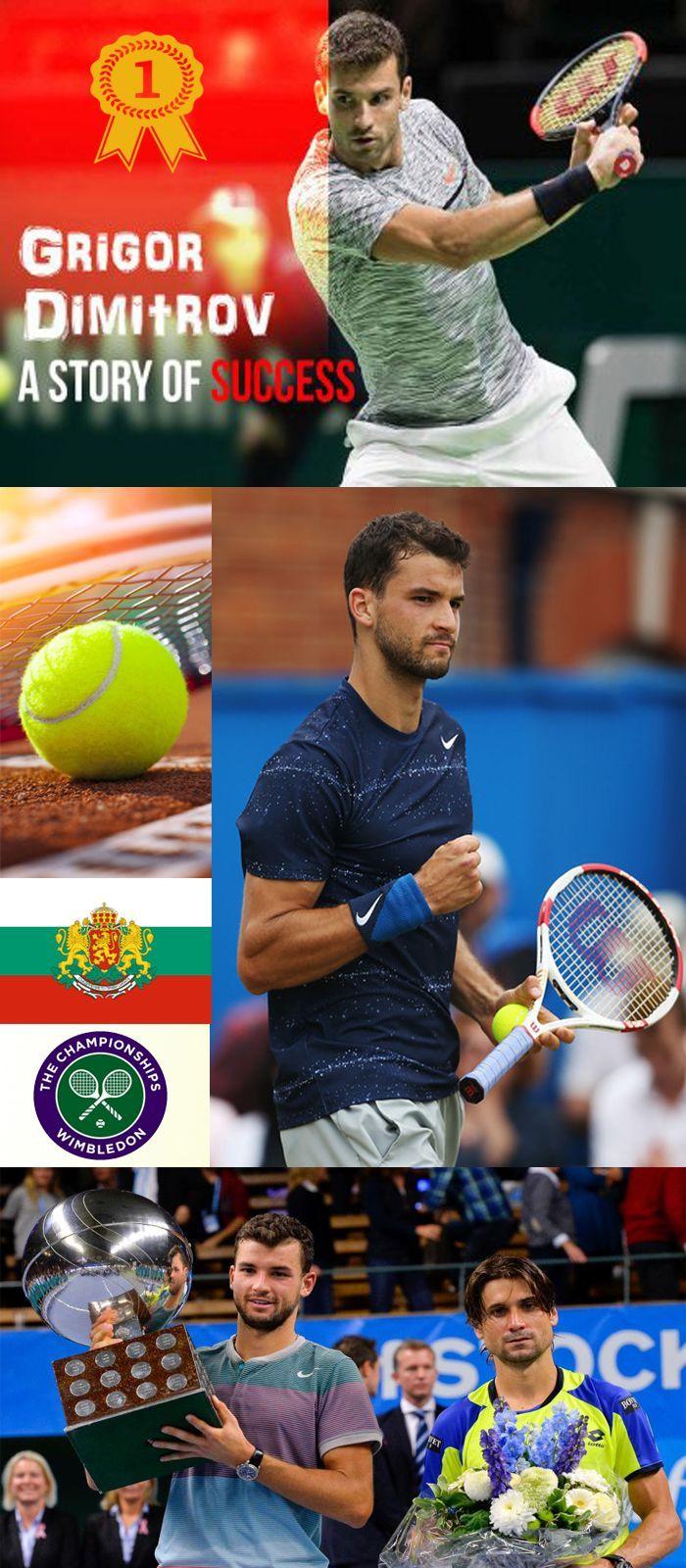 #grigordimitrov #tennis #usopen Grigor Dimitrov met 2017 with his fifth title in ATP 250 in Brisbane. At Australia, Open Tour Dimitrov ranked for the Grand Slam semifinals.