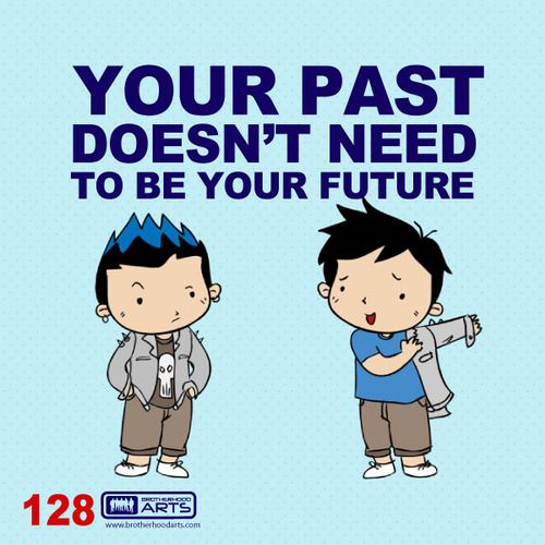 """128: Ahmad Says """"Your past doesn't need to be your future.""""  deenify.com"""