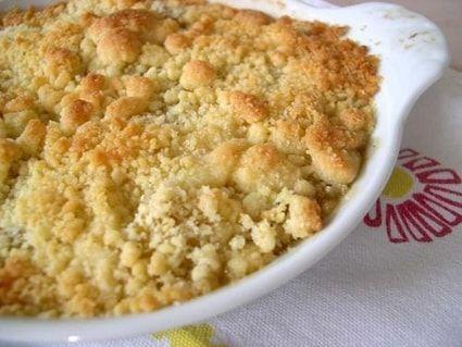 Recette de Crumble aux pommes rapide : la recette facile
