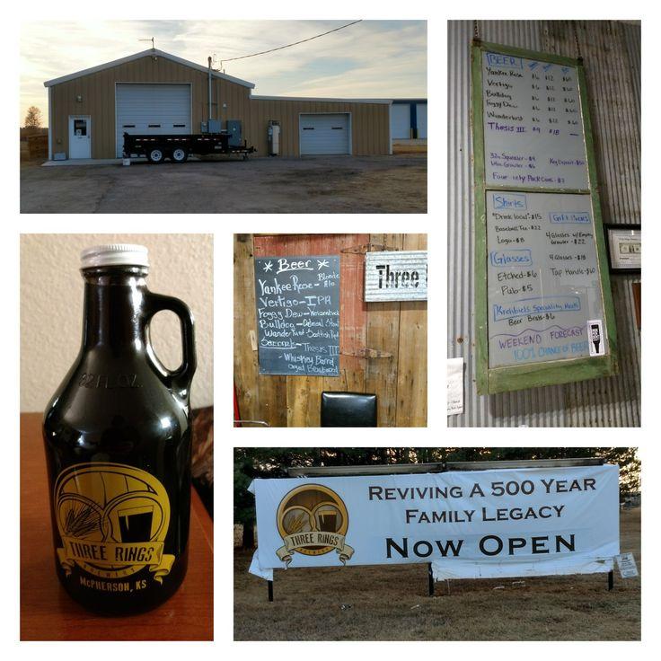 Three Rings Brewery in McPherson , Kansas