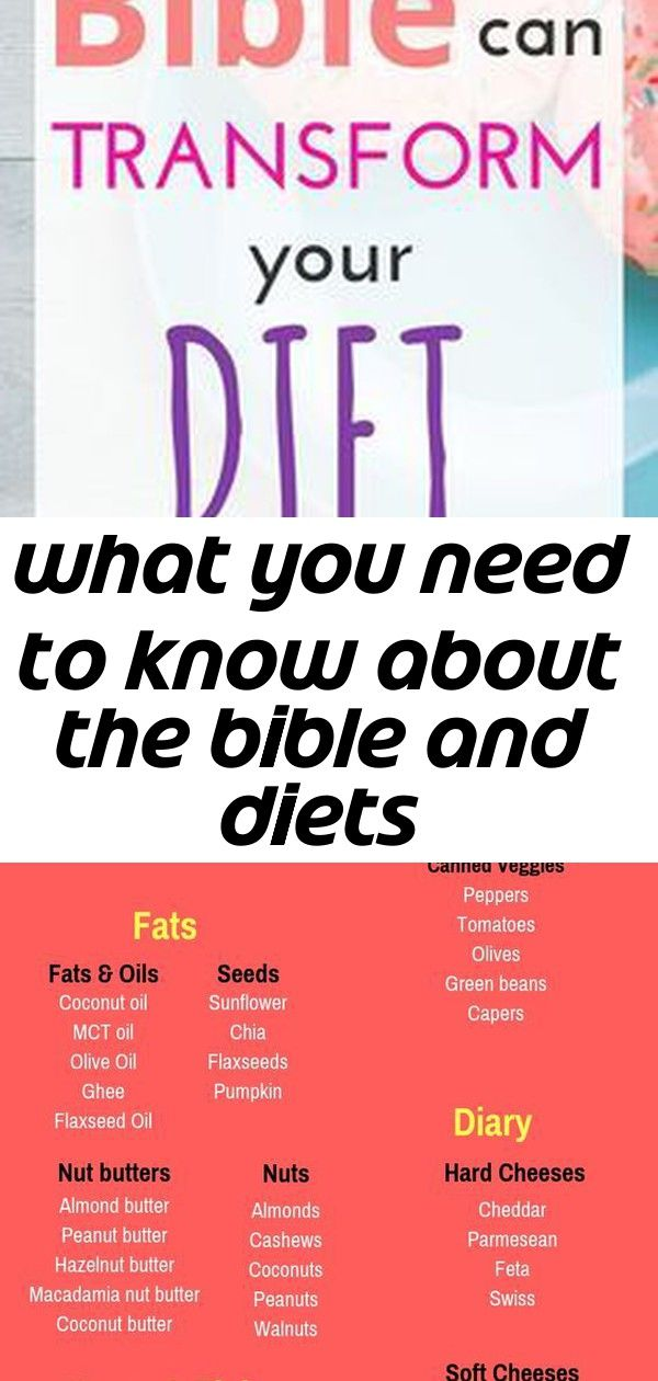 What You Need To Know About The Bible And Diets Bible Diet Diet Biblical Diet