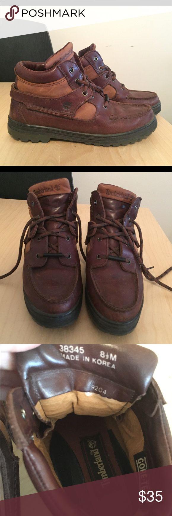 Timberland 38345 Gore Tex women's 8.5 hiking boots Timberland 38345 Gore Tex women's 8.5 hiking boots. Worn once. Make an offer! Timberland Shoes Winter & Rain Boots