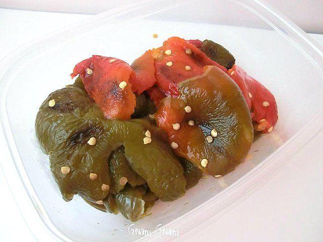Peperoni arrostiti... al forno | Ricetta contorno