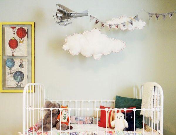 детская комната на тему самолеты